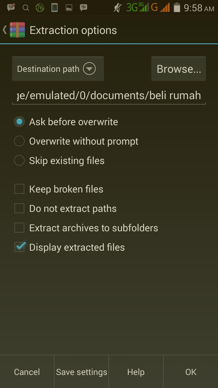 cara menggunakan aplikasi rar for android untuk membuka file zip